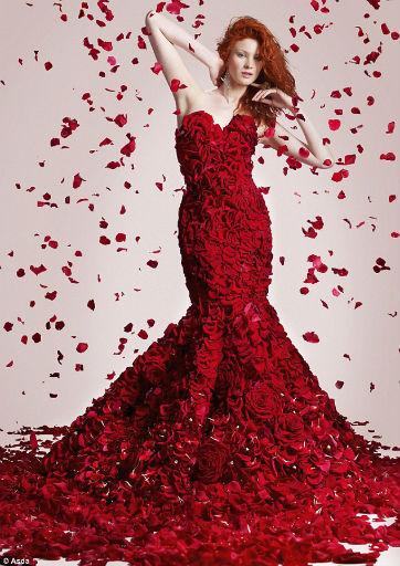 Gaun Bunga