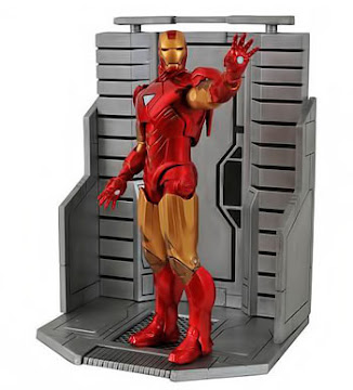 Marvel Select - IRON MAN Mark VI Avengers Movie