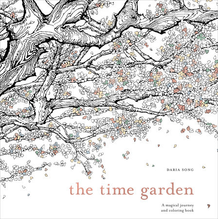 Review The Time Garden Chamber Summary A Dazzlingly Beautiful Coloring Book