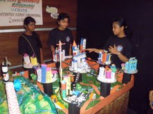 Mitra Academy team with their project