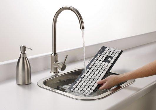 design, invenção, derrubou água no seu teclado?, teclado que você pode lavar, limpar teclado, como limpar meu teclado, derrubei agua no teclado, curiosidades, eu adoro morar na internet
