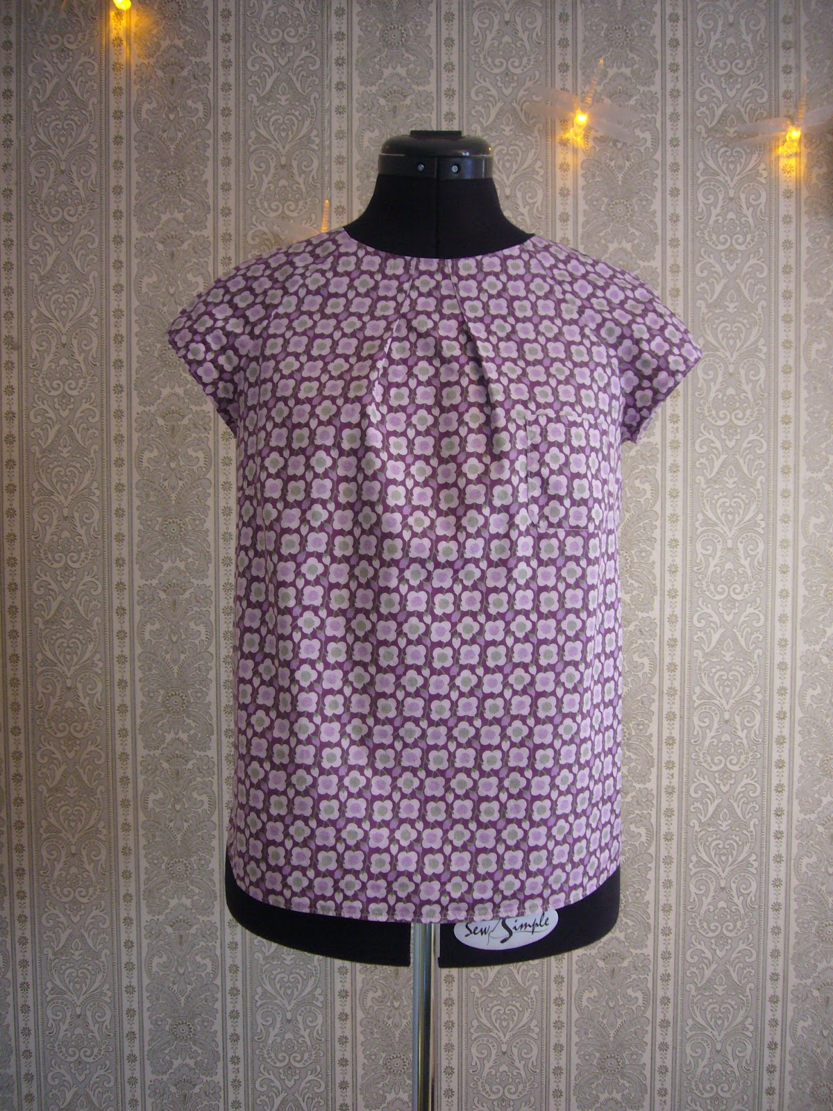 Naehcoudssew petit haut sixties 60er top burda for A couture facile