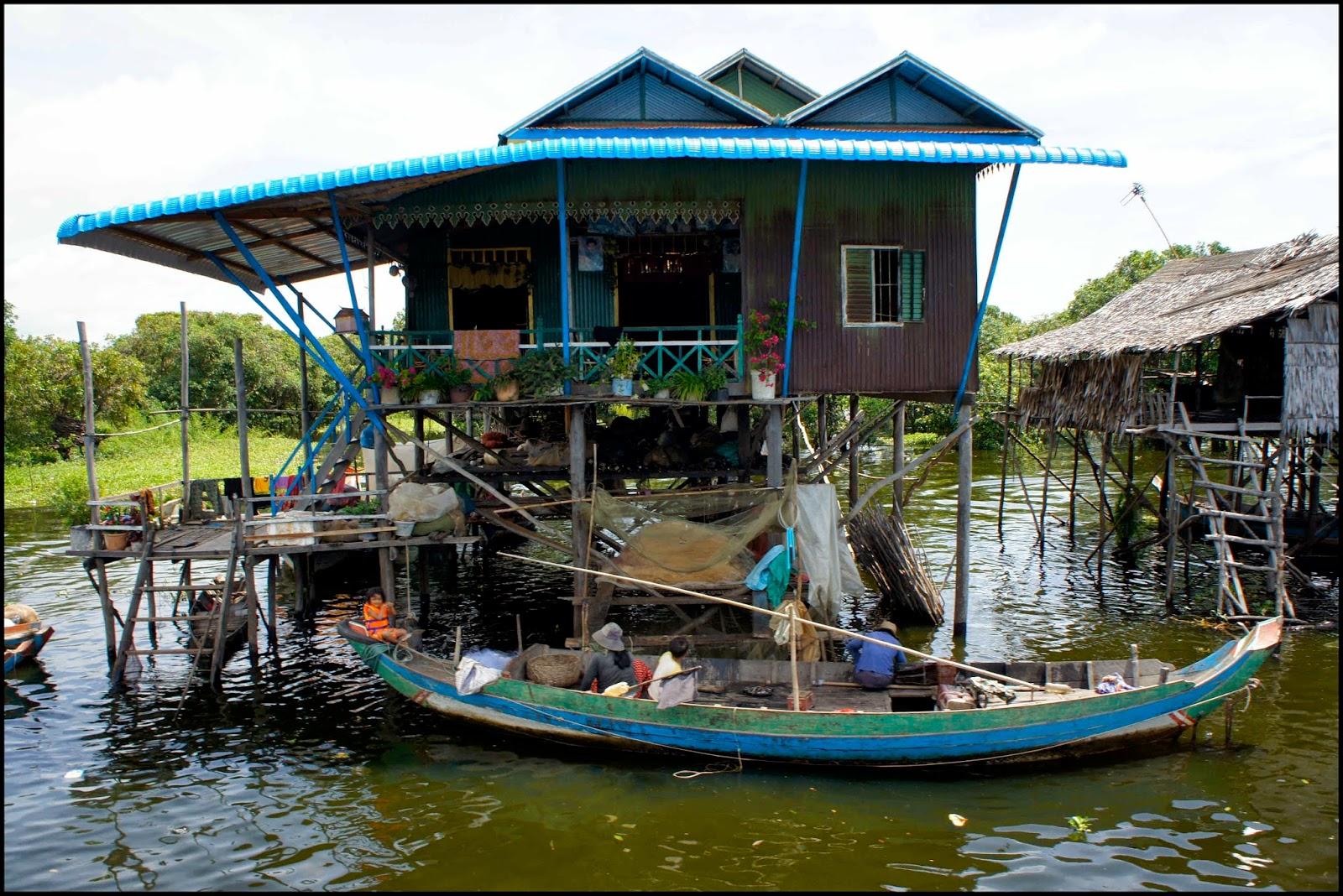 Kompong Phluk - Siem Reap