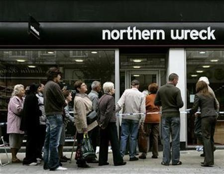 the northern rock crisis essay Helped steer the global economy through the worst financial crisis since  when  funds became scarce in the money markets, northern rock.