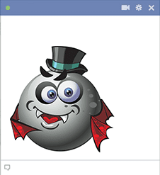 Count Dracula Smiley
