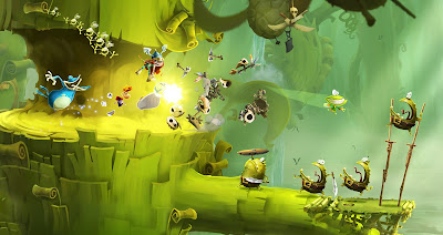 10 Best Couch Co-Op Games Rayman Legends