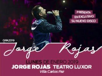 """JORGE ROJAS - GIRA """"MI CANTAR"""""""