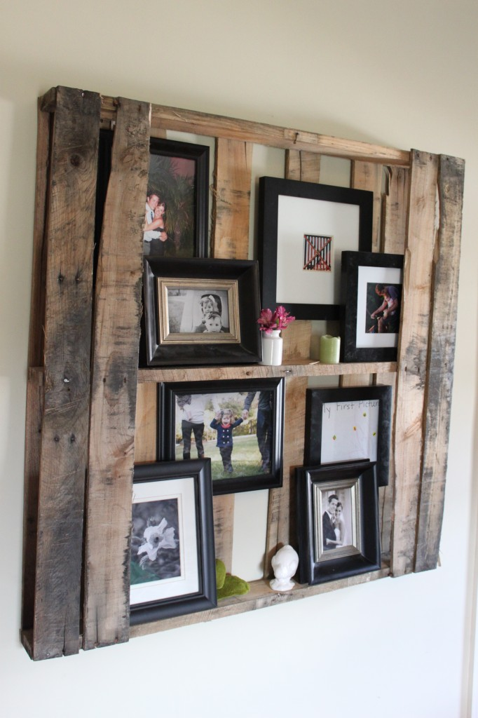 Diy vintage chic new upcycled pallet project coming soon for How to build pallet shelves