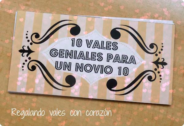 10 vales geniales para un novio 10 (DIY) Manualidades / General