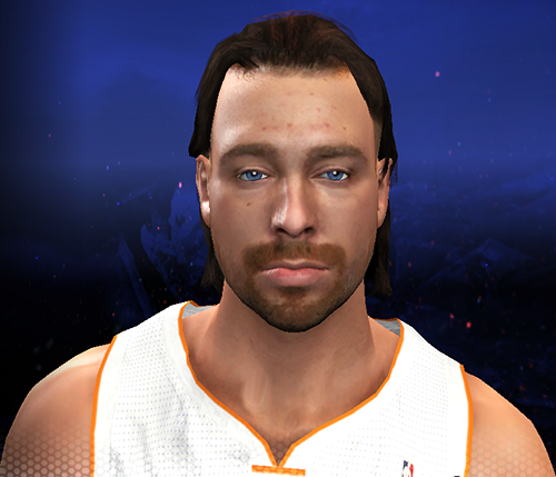 NBA 2K14 Josh McRoberts Cyberface (Hair Update)
