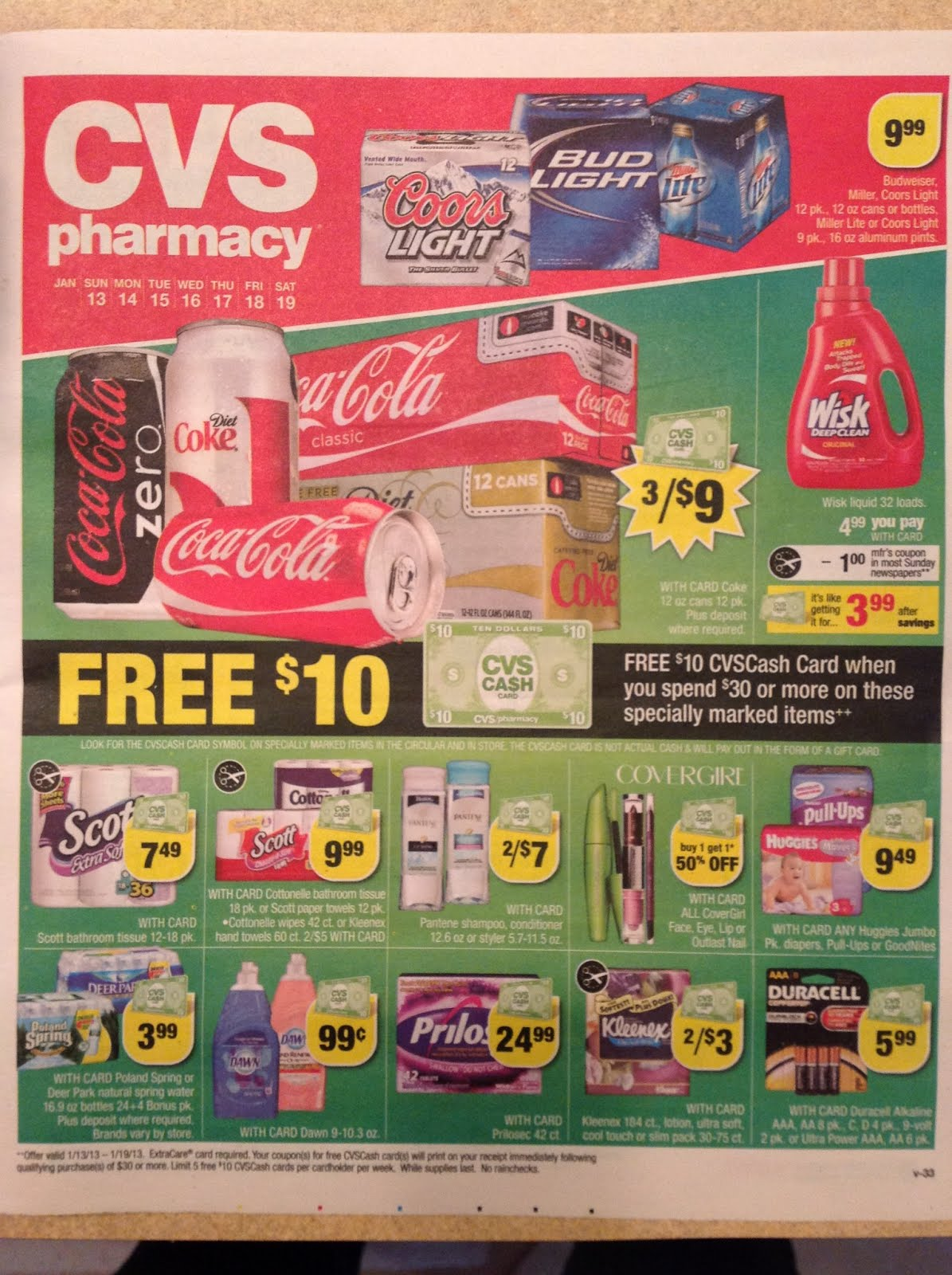 simply cvs  cvs ad scan preview for the week of 1  13  2013