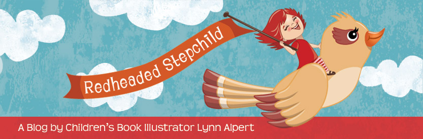 Children's Illustrator Lynn Alpert's Blog | Redheaded Stepchild
