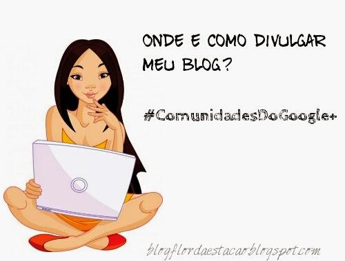 Onde e como divulgar meu blog: Comunidades do Google+