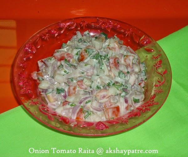 Kanda-tomato raita