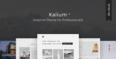 Kalium Creative Theme for Professionals Download Free [Version 1.7.2]