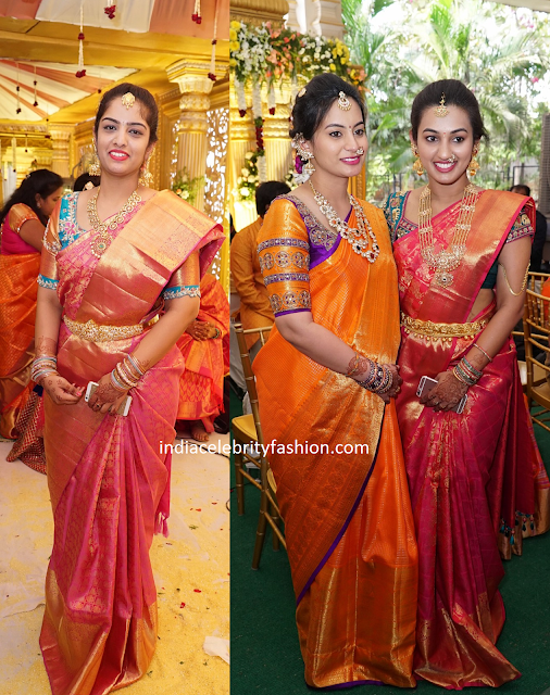 Wedding Silk Sarees and Blouse Ideas