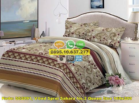 V-bed Sprei Sahara No.2 Queen Size 160x200