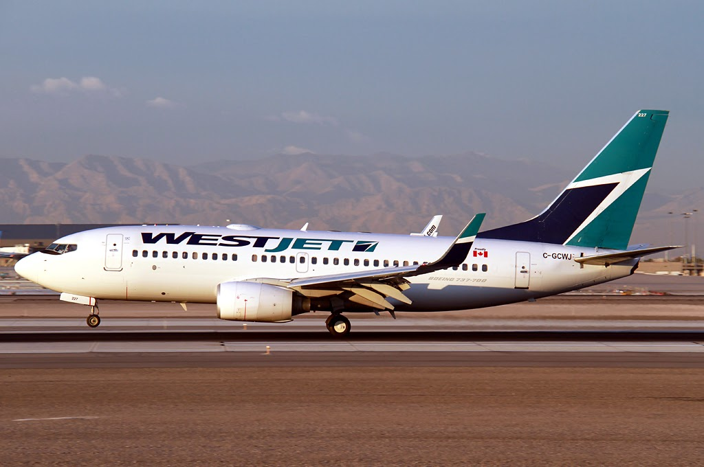 Aero Pacific Flightlines Canadian Carrier Westjet Moving
