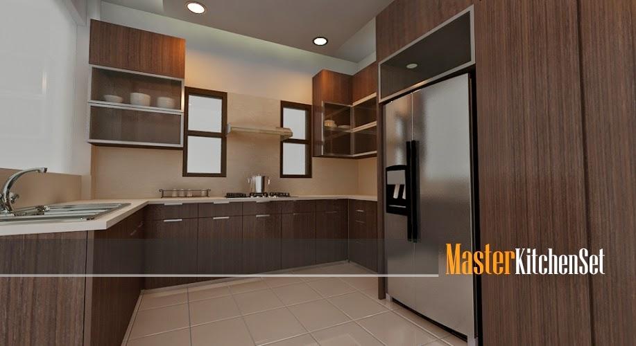 Kitchen set solo blog master coklat 3