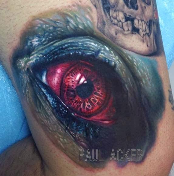 Incríveis tatuagens realistas e criativas