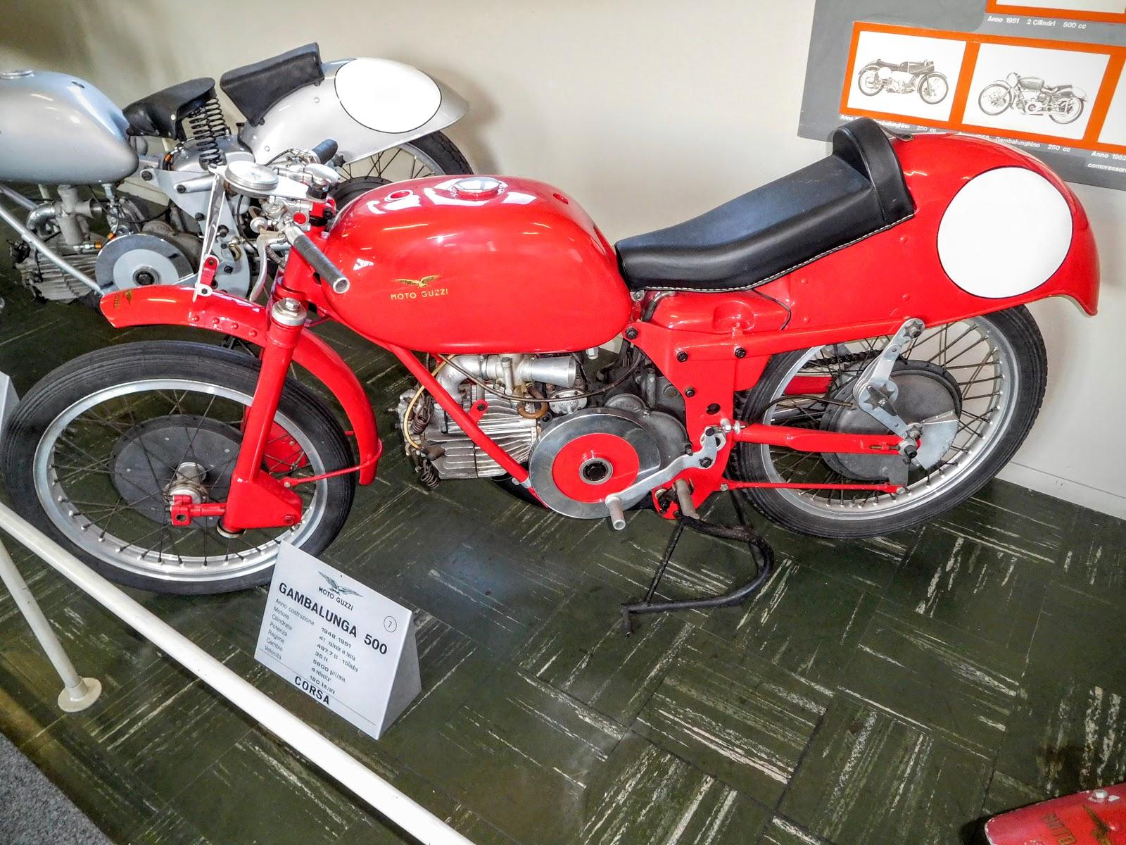 Tigho NYDucati: 1948-51 Moto Guzzi Gambalunga 500