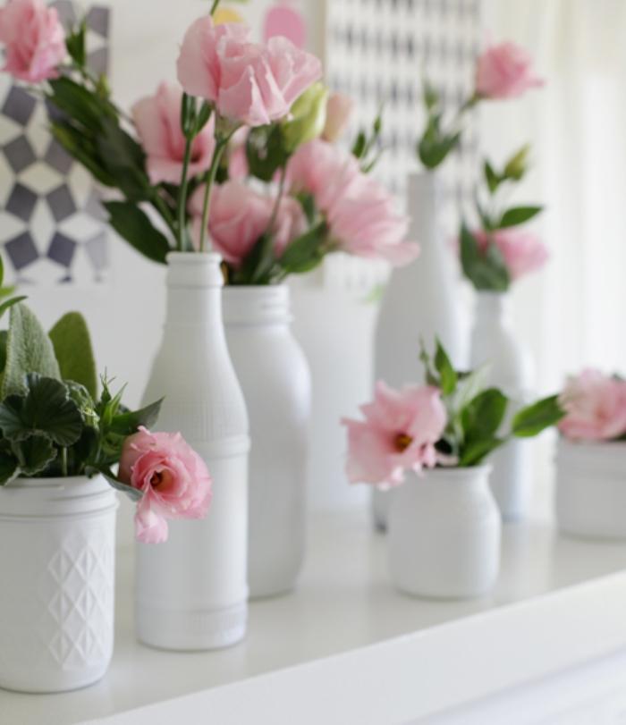 Coisas da k tia garrafas decoradas for Objetos baratos para decorar