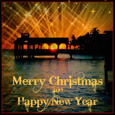 Key West Merry Christmas and Happy New Year