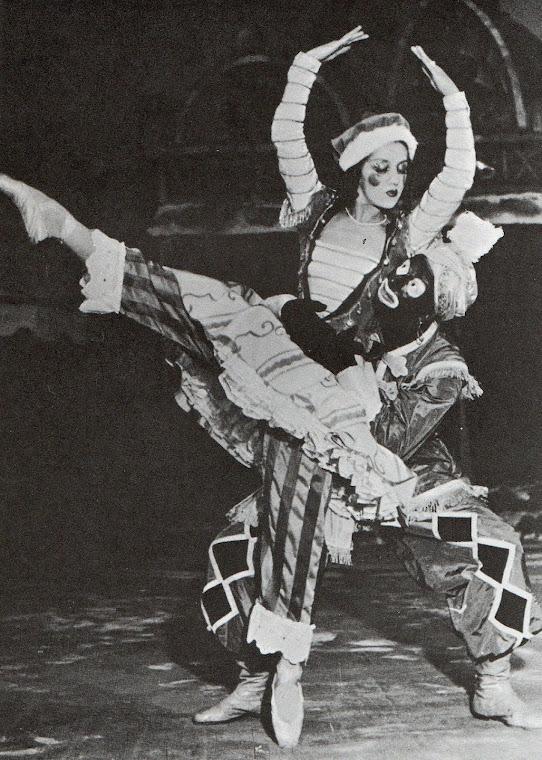 Reapresentação do balé Petruschka.