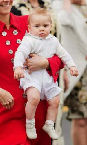 Prince George to Make First Royal Engagement on Wednesday
