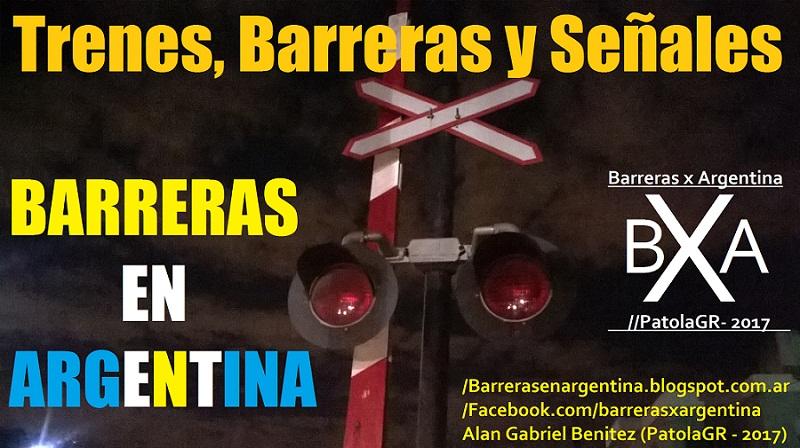 trenes, barreras y señales argentina
