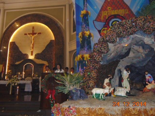 Nuansa Batik Cerminan Natal Di Pekalongan
