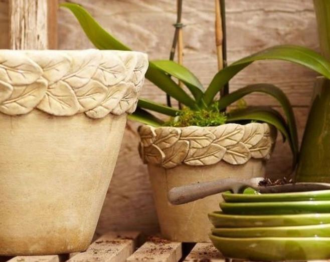 Как сделать цветочный горшок из глины