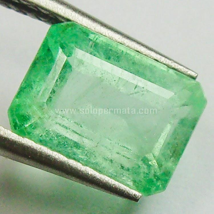 Batu Permata Zamrud Emerald Beryl Columbia