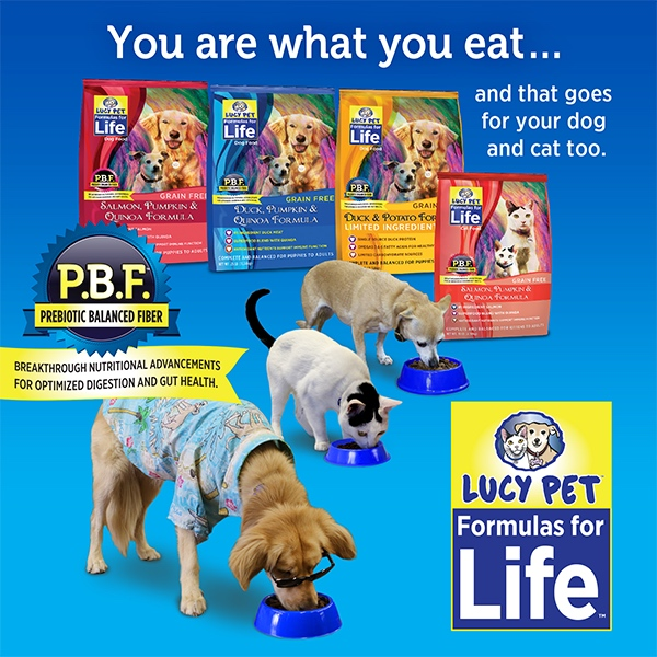 Lucy Pet Formulas for Life Dog & Cat Food