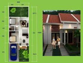 rumah sangat sederhana modern