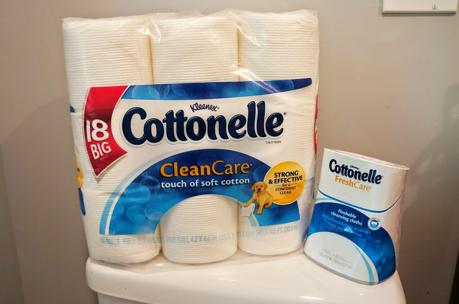 Cottonelle® Clean Care TP and Flushable Cleansing Cloths