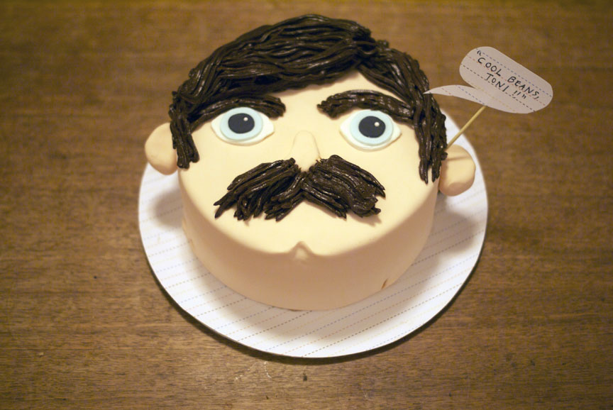 Birthday Cake Image For Ron : Pin Ron-swanson-birthday-cake on Pinterest