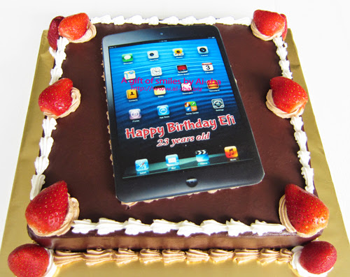 Birthday Cake Edible Image iphone