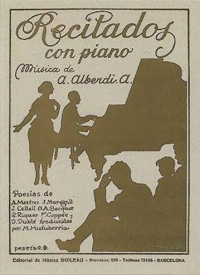 Portada del libro Recitados con piano