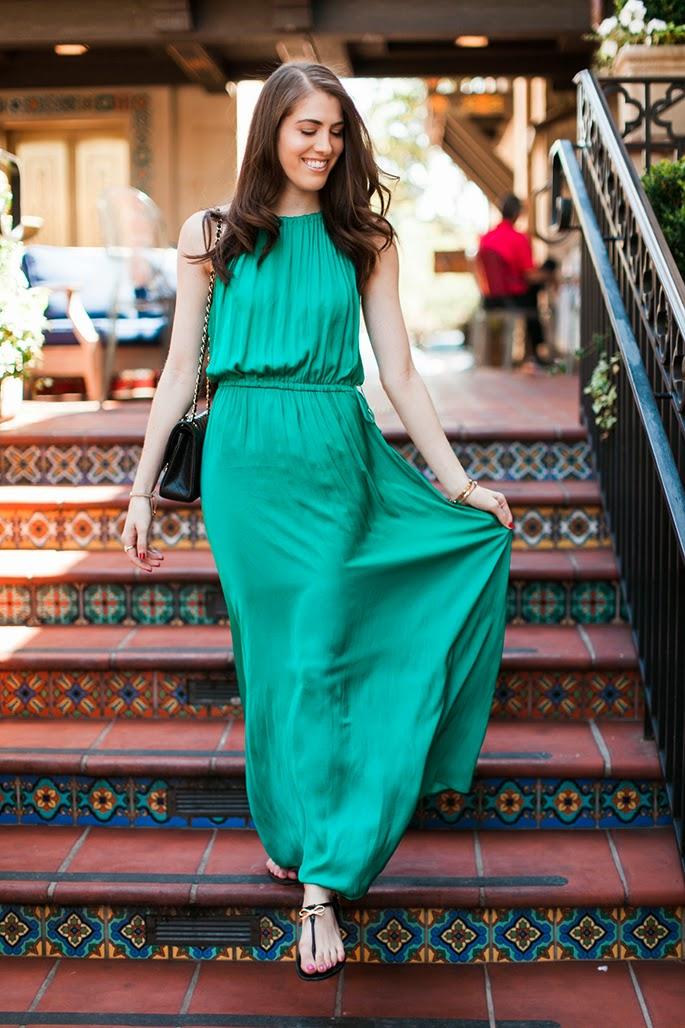 LOFT Tasseled Halter Maxi Dress Bistro 31 Highland Park Villag