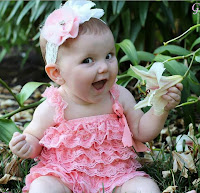 Baby Images-Pink Frock Kids Pics