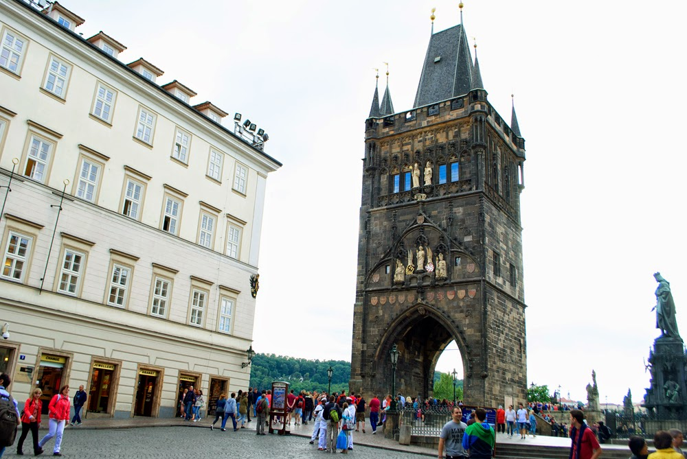 entrance charles bridge