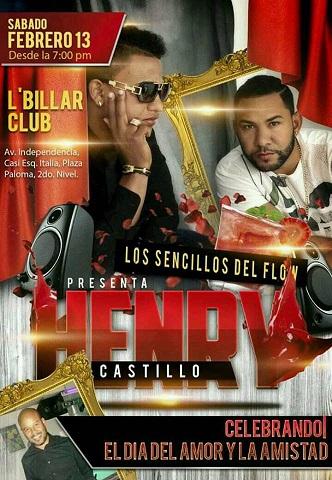 """Ven a celebran """" Día del Amor"""" Los Sencillos del Flow  L'Billar Club  sábado 13"""