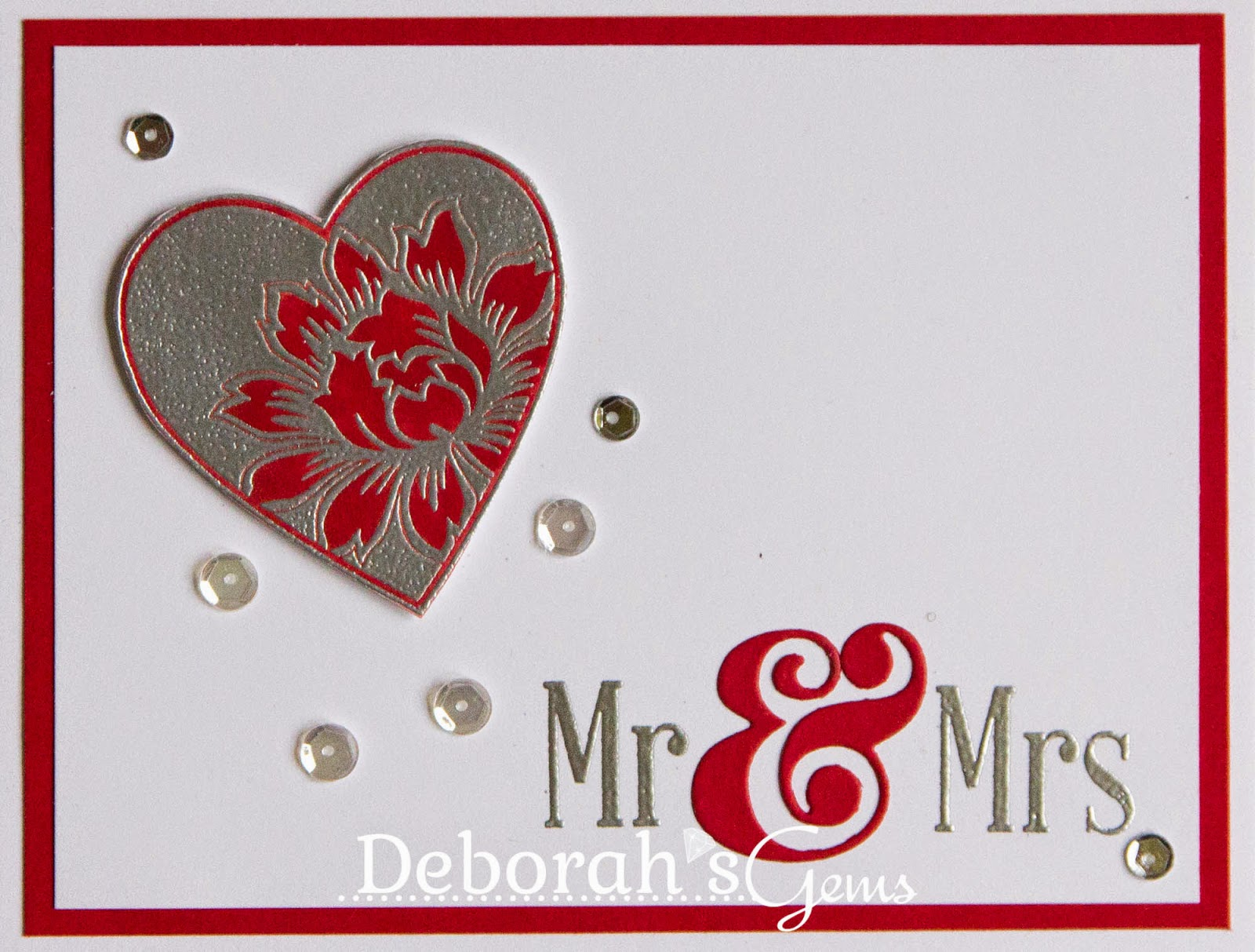 Mr & Mrs - photo by Deborah Frings - Deborah's Gems