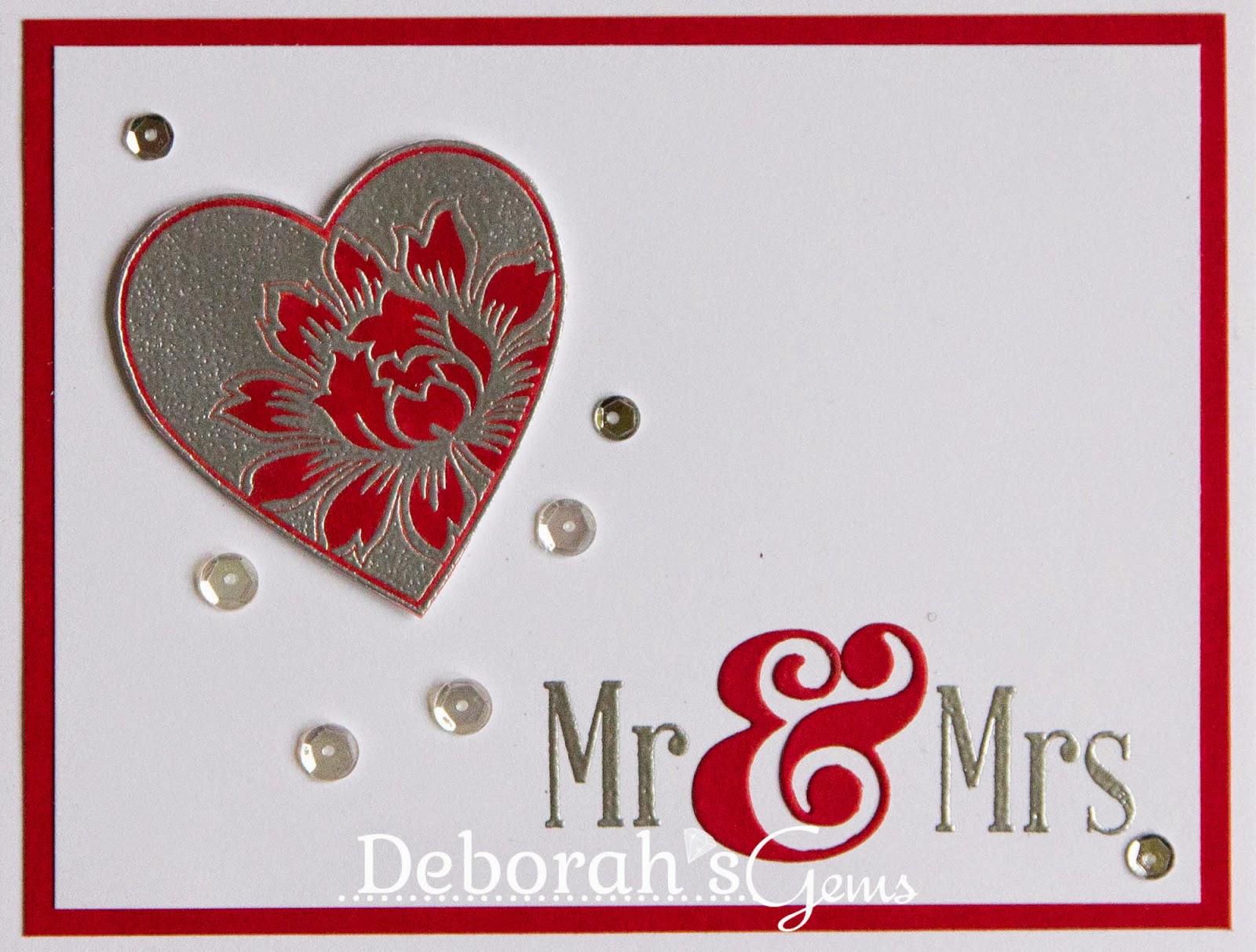 Mr & Mrs - photo by Deborah Frings - Deborah's Gems