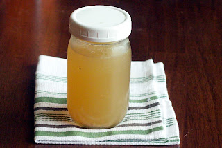 stock Homemade Chicken Stock