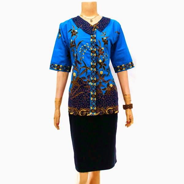 Baju Blus Batik Cap