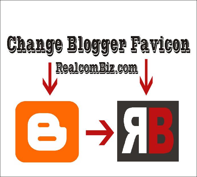 change blogger favicon with custom site icon