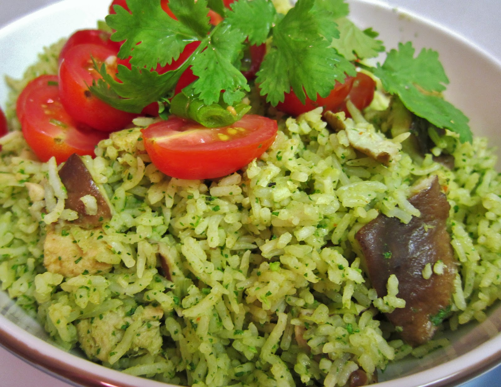 Peruvian Cilantro Rice Recipe — Dishmaps