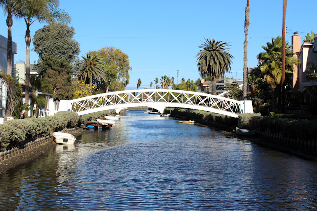 Venice canals - weekend in Los Angeles, travel blog